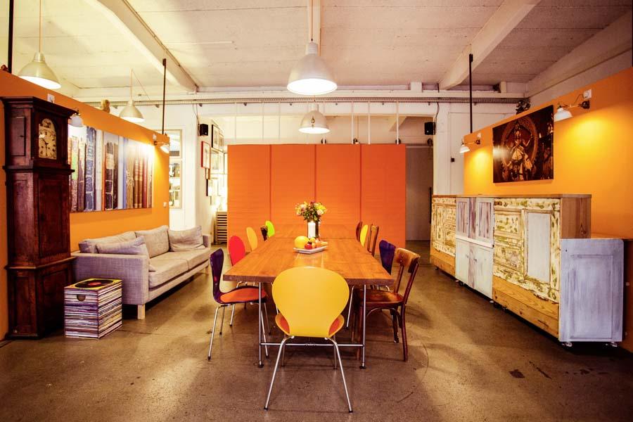 Veranstaltungsraum Hamburg mit mobiler Schiebewand