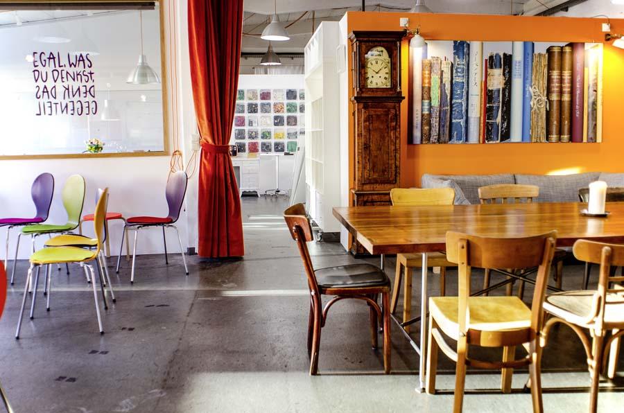 Workshopraum für Präsentation Foyer