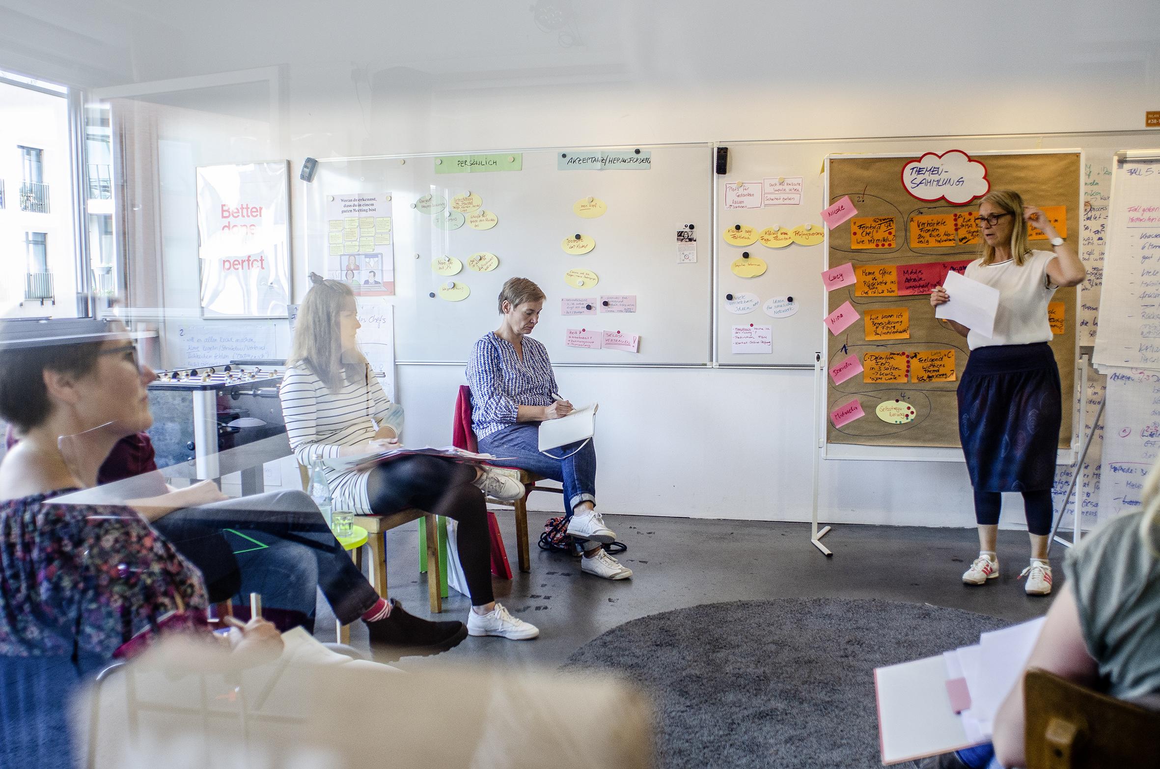 Workshop mit den Feelgoodmanagern