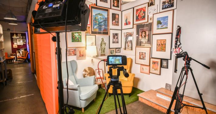 Streaming Setup Lobby