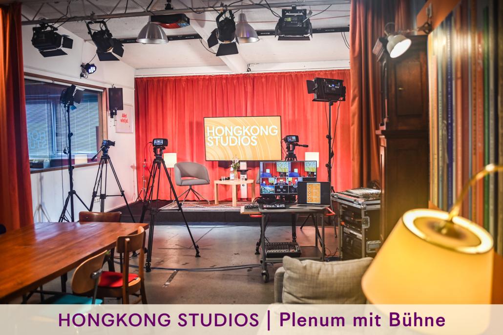 Live TV Streaming Setup aus Hamburg